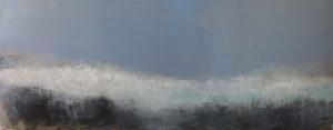 Oil on canvas 96x229 cm