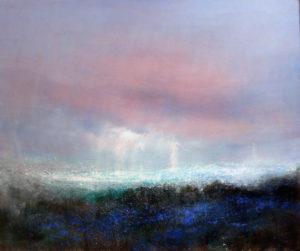Bluebells. oil on canvas 76x91.5 cm 2016 £1600